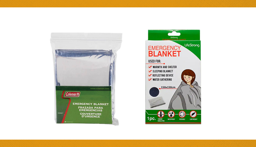 7. EMERGENCY BLANKET