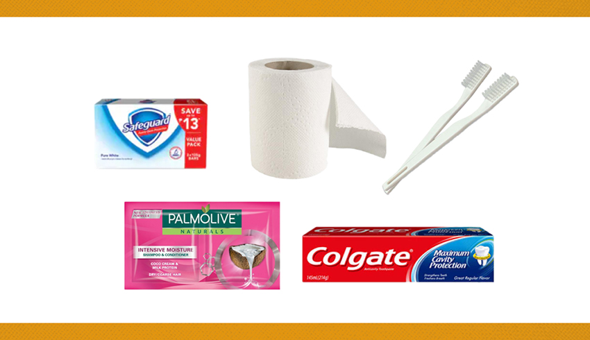 6. PERSONAL HYGIENE AND SANITARY SUPPLIES