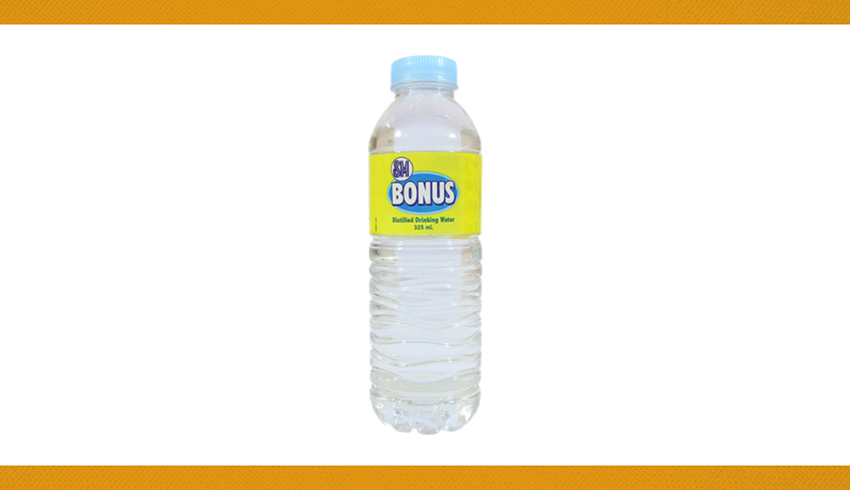 3. BOTTLED WATER