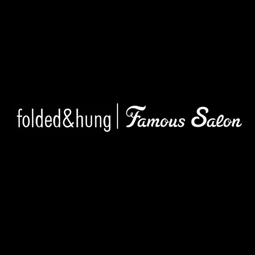 FOLDED HUNG FAMOUS SALON