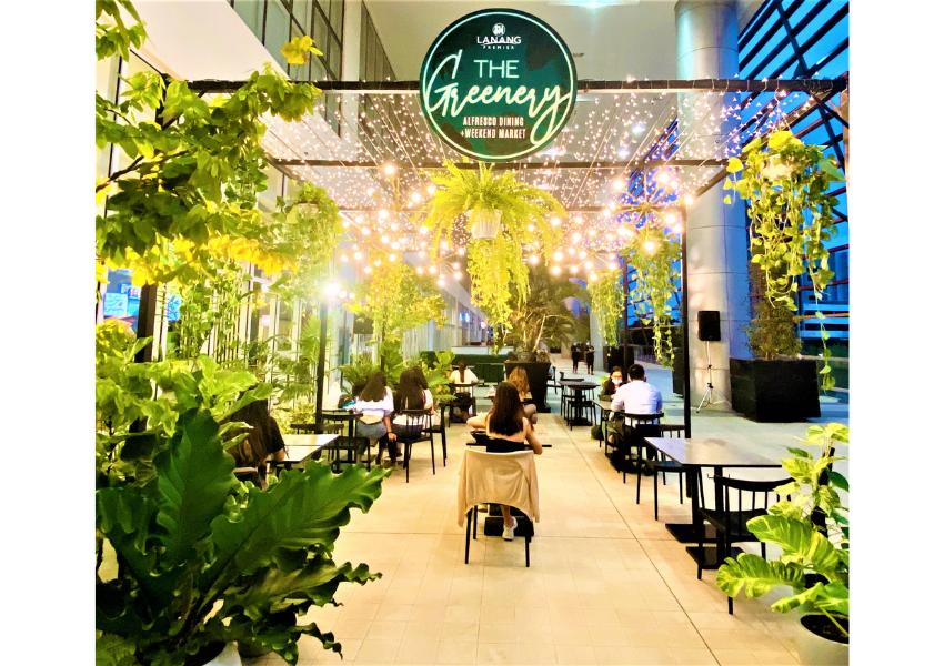 The Greenery Al Fresco Dining at the Northwing