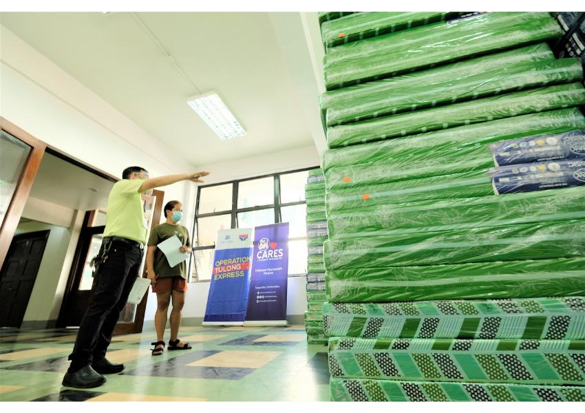 SM partners with Red Cross for QC isolation wards