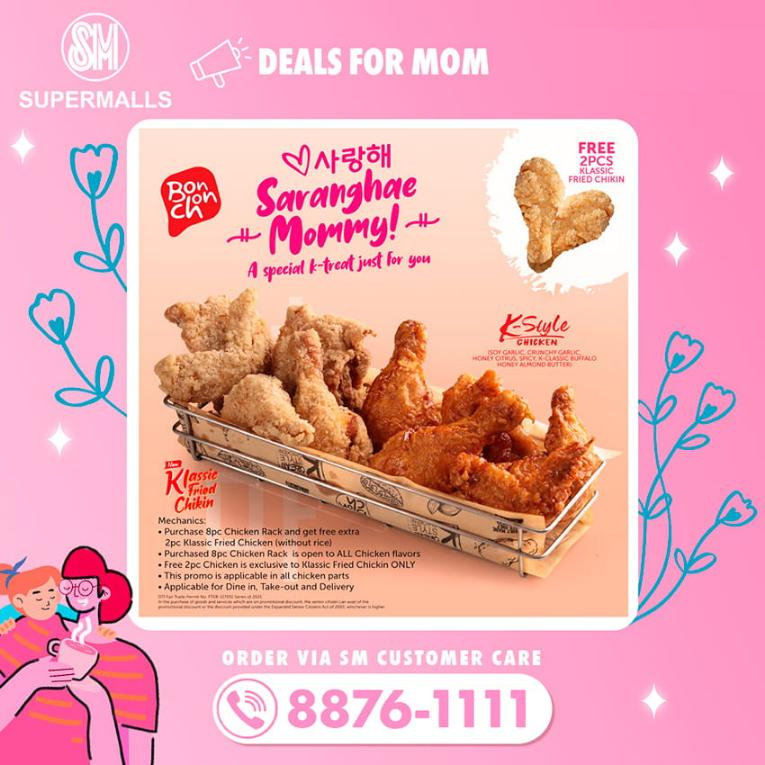 Deals for Mom at SM