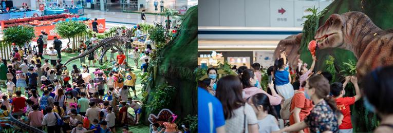 SM, SM Supermalls, Asia-Pacific Stevie Awards, SM Group, SM China, SM City Tianjin, Back to Super Dinosaurs' World