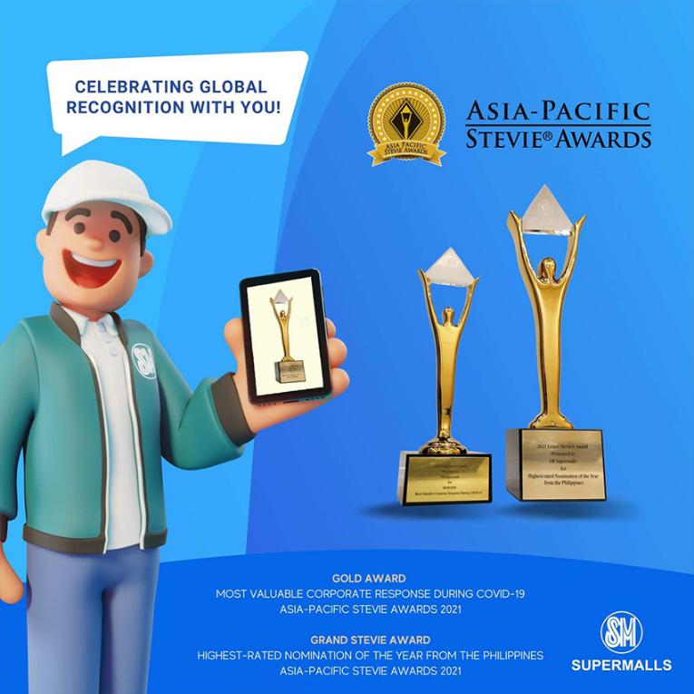 SM, SM Supermalls, Asia-Pacific Stevie Awards, SM Group, SM Buddy Program, SM Supermalls North Luzon