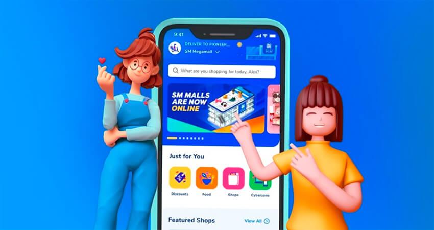 SM Malls Online App, Super Midnight Flash Sale